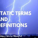 Static Terms and Definitions